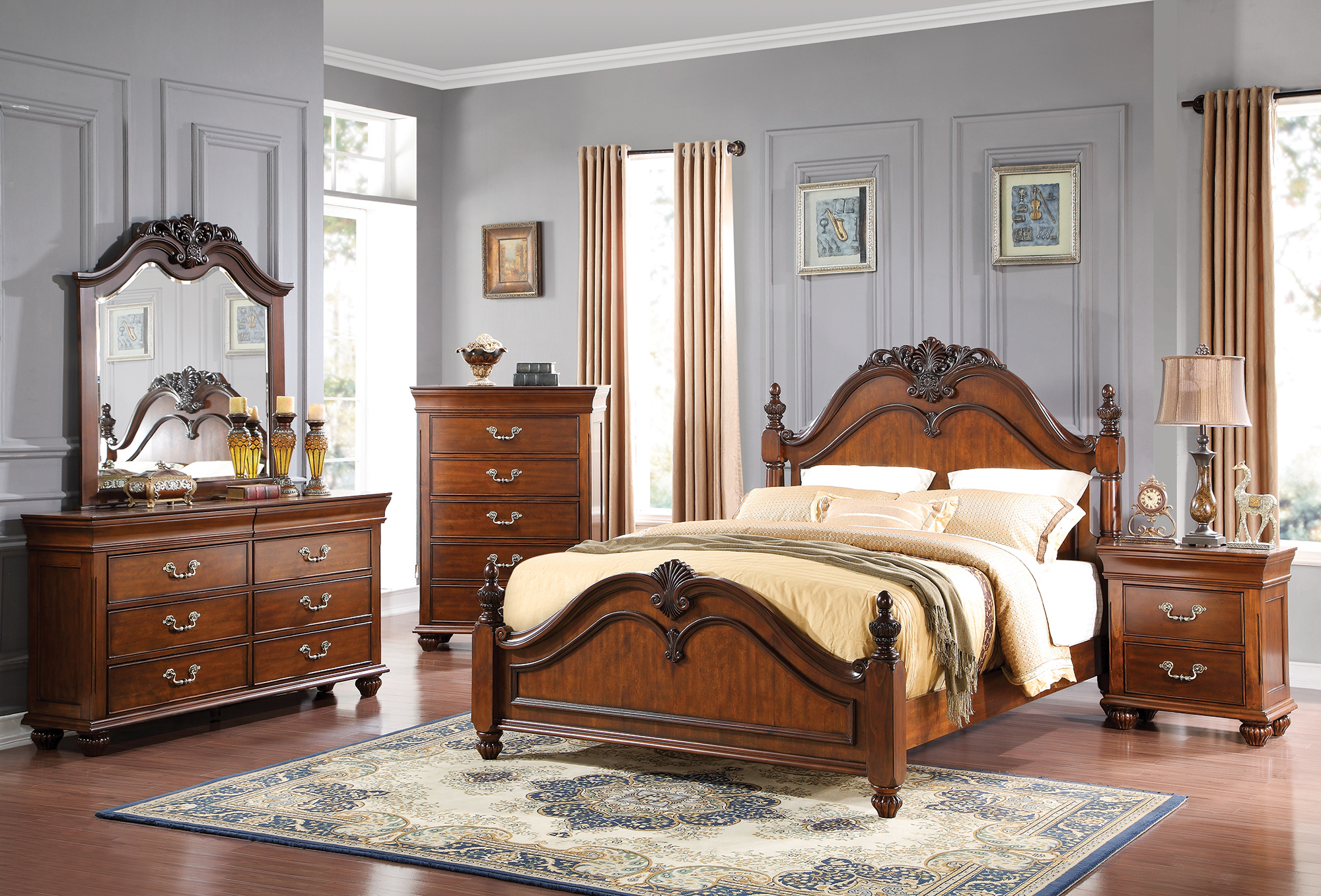 AWF B8651-5PC 5 PC Bedroom