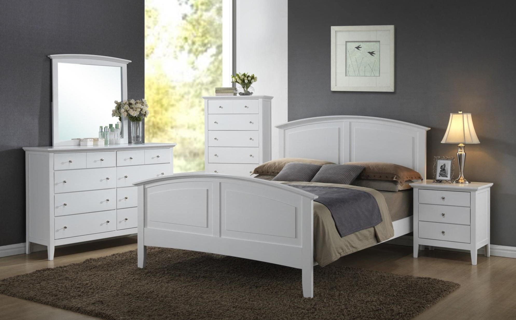 Crossroads Furniture 3226 Carter Full BED COMPLETE; Full HB, FB, Rails & Slats