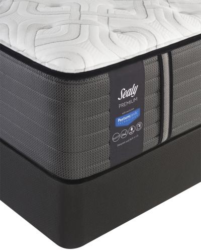 Sealy Premium Satisfied Cushion Firm Mattress-Twin