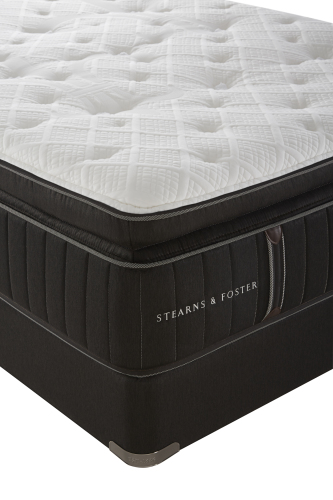 Model: 51875732 | Stearns And Foster Baywood Luxury Cushion Firm Euro Pillow Top Advanced AdaptFoam  Split California King