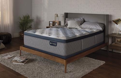 Model: 500820513-1030   Serta iComfort Hybrid Blue Fusion 5000 Cushion Firm Pillow Top-Full