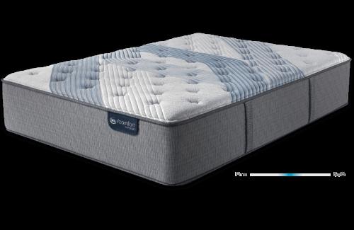 Serta iComfort Hybrid Blue Fusion 3000 Plush-Full