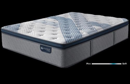 Serta iComfort Hybrid Blue Fusion 1000 Plush Pillow Top-Full