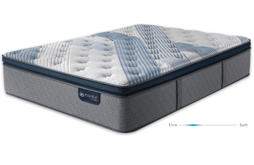 Serta iComfort Hybrid Blue Fusion 1000 Luxury Firm Pillow Top-Queen