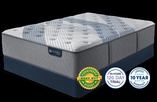 Serta iComfort Hybrid Blue Fusion 1000 Luxury Firm Pillow Top-Full