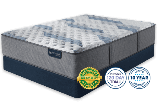 Serta iComfort Hybrid Blue Fusion 500 Extra Firm-Full