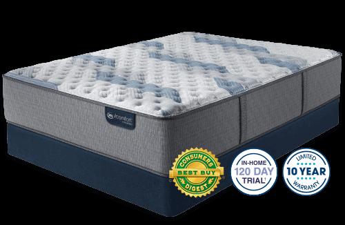 Serta iComfort Hybrid Blue Fusion 500 Extra Firm-Queen