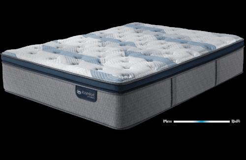 Serta iComfort Hybrid Blue Fusion 300 Plush Pillow Top-Twin