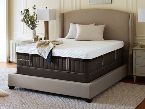Stearns And Foster Lux Estate Hybrid Brooklet Elite LXCF Mattress King