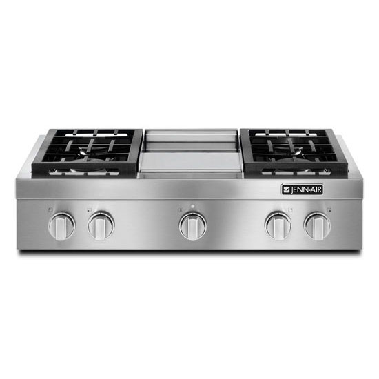 Pro-Style® Gas Rangetop with Griddle, 36