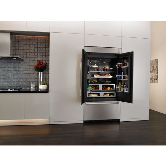 Jenn Air Jf42nxfxde 42 Inch Built In French Door Refrigerator