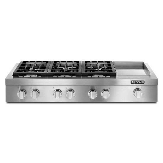 Pro-Style® Gas Rangetop with Griddle, 48