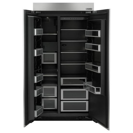 Model: JPK42SNXEPS | 42-inch Stainless Steel Panel Kit for Fully Integrated Built-In Side-by-Side Refrigerator