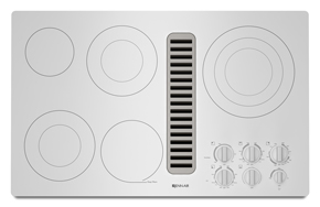 Electric Radiant Downdraft Cooktop, 36