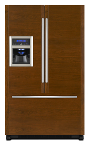 Cabinet Depth French Door Refrigerator with External Dispenser, 69