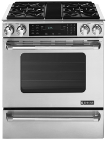Jenn-Air Slide-In Gas Range with Convection, 30""
