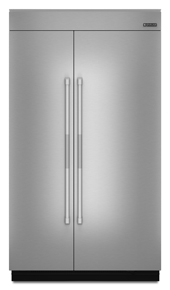 """Jenn-Air 48""""(w) Fully Integrated Built-In Side by Side Refrigerator Panel Kit."""