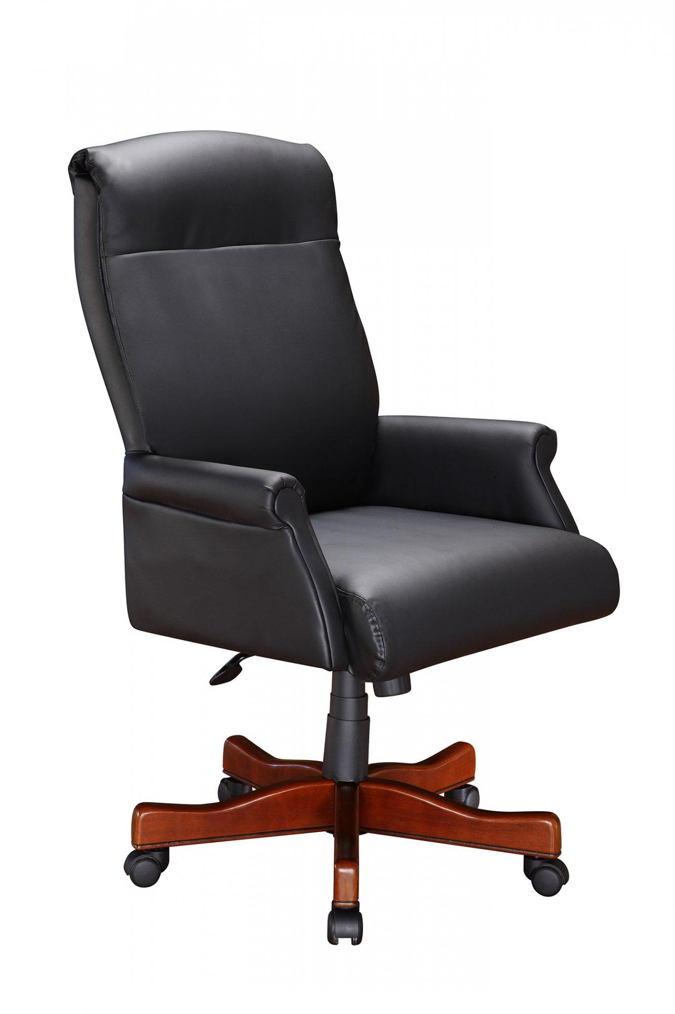 Flexsteel Hadley  Roll Arm Executive Desk Chair
