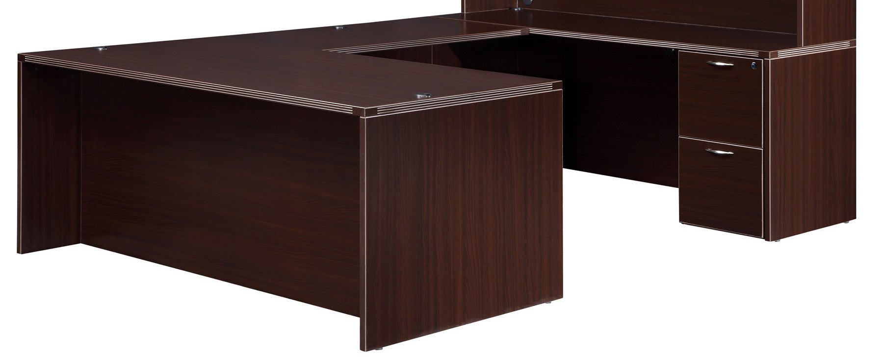 Flexsteel Fairplex  Right/Left Executive U Desk