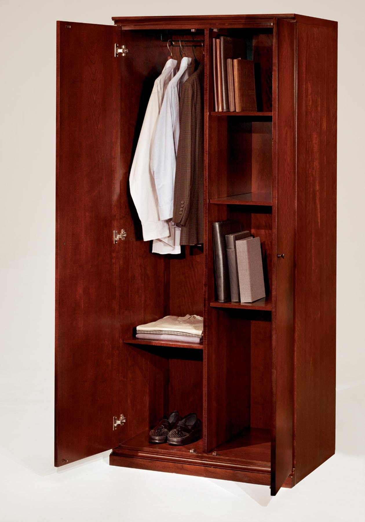 Flexsteel Del Mar  Double Door Storage Wardrobe/Cabinet