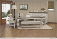 Dining Table w/ Turned Legs_x000D_ 122 lb