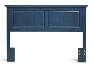 Full/Queen Cottage Style Headboard in Wedgewood Blue
