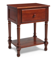 Traditional Nightstand in Cherry Finish