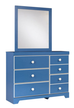 Bedroom Mirror/Bronilly/Blue