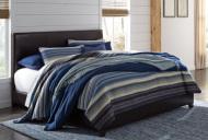King Upholstered Bed/Monaka