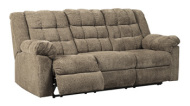 Reclining Sofa/Workhorse/Cocoa