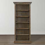 Compass Tall Single Open Bookcase
