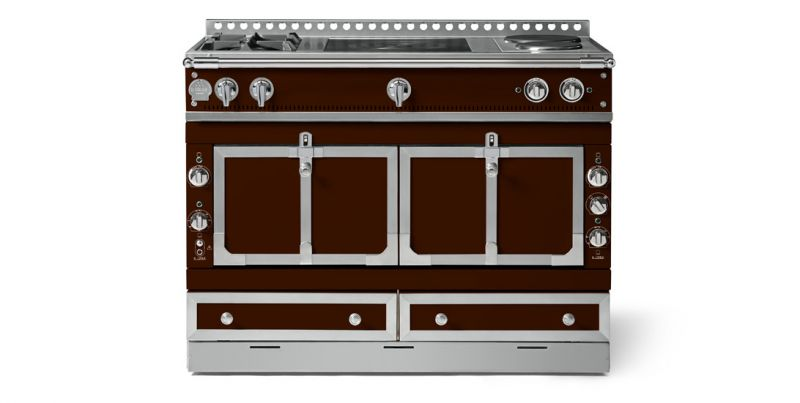 LA Cornue LE CHATEAU 120 -3-Element Cooktop configuration