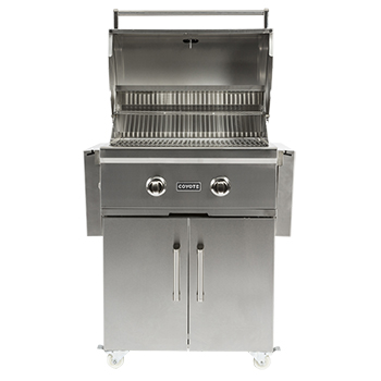 "Coyote 28"" C-Series Grill with Cart- Natural Gas"
