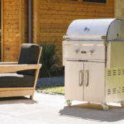 "Model: C1C28NG-FS | Coyote 28"" C-Series Grill with Cart- Natural Gas"