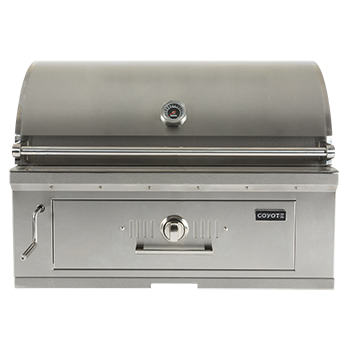 "Coyote 36"" Charcoal Grill"