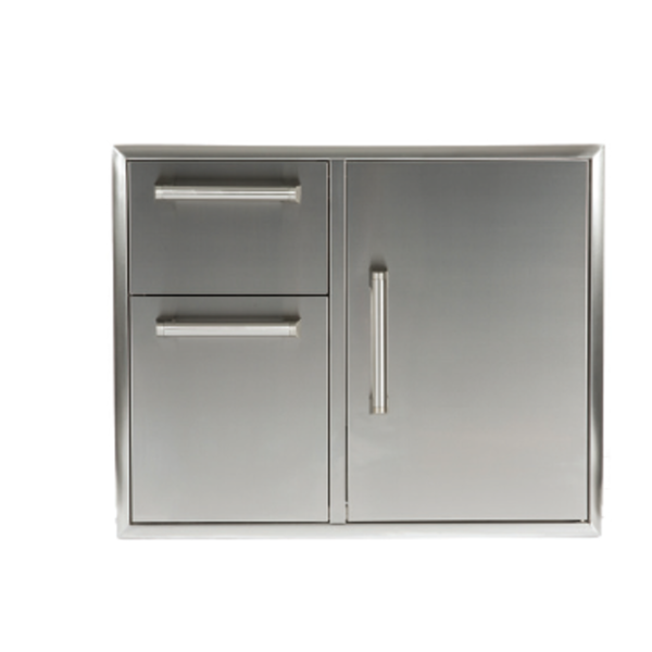"Coyote 31"" Combination Storage: Door and Drawers Cabinet"