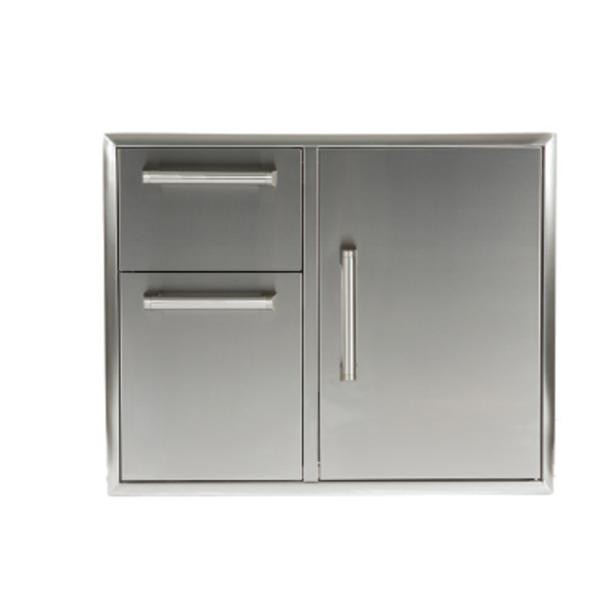 "Coyote 31"" Combination Storage: Door and Drawers Cabinet"