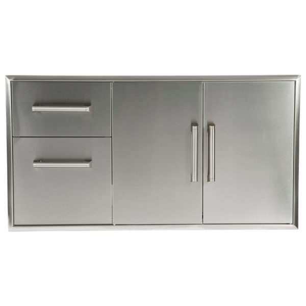 Model: CCD-2DC | Coyote Combination Storage: Two Drawer Cabinet & Double Access Doors