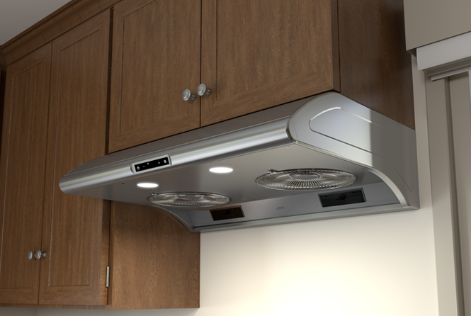 Essentials Power Typhoon Under-Cabinet Range Hoods