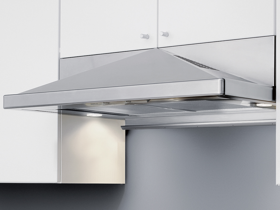 "Zephyr 30"" Pyramid Under-Cabinet- Black  (picture shows stainless but this model is black)"
