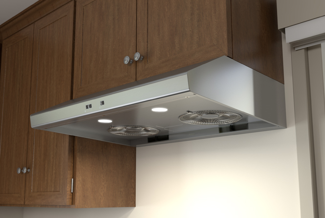 Essentials Power Cyclone Under-Cabinet Range Hoods