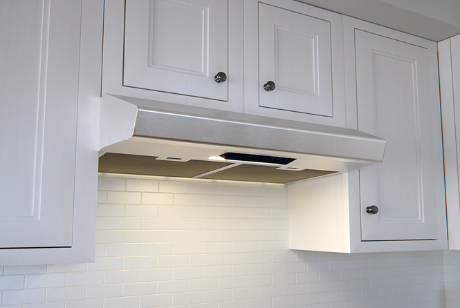 ESSENTIAL BREEZE II UNDER-CABINET RANGE HOODS