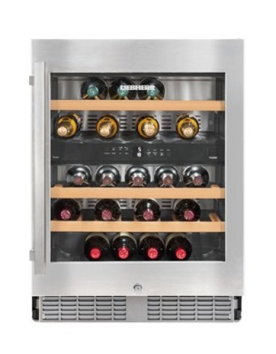 Built-under multi-temperature wine cabinet