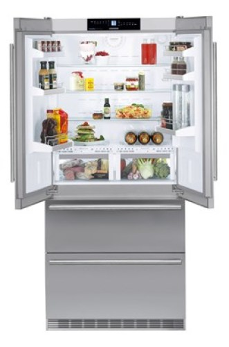 Fridge-freezer with BioFresh and NoFrost
