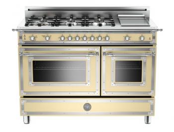 BERTAZZONI HERITAGE SERIES 48 6-Burner, Gas Double Oven