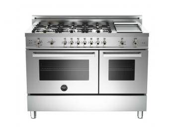 48 6-Burner LPG, Gas Double Oven