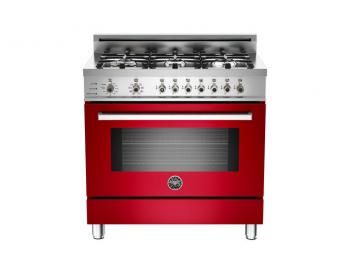 36 6-Burner, Electric Self-Clean Oven