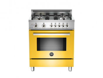 30 4-Burner, Electric Self Clean Oven