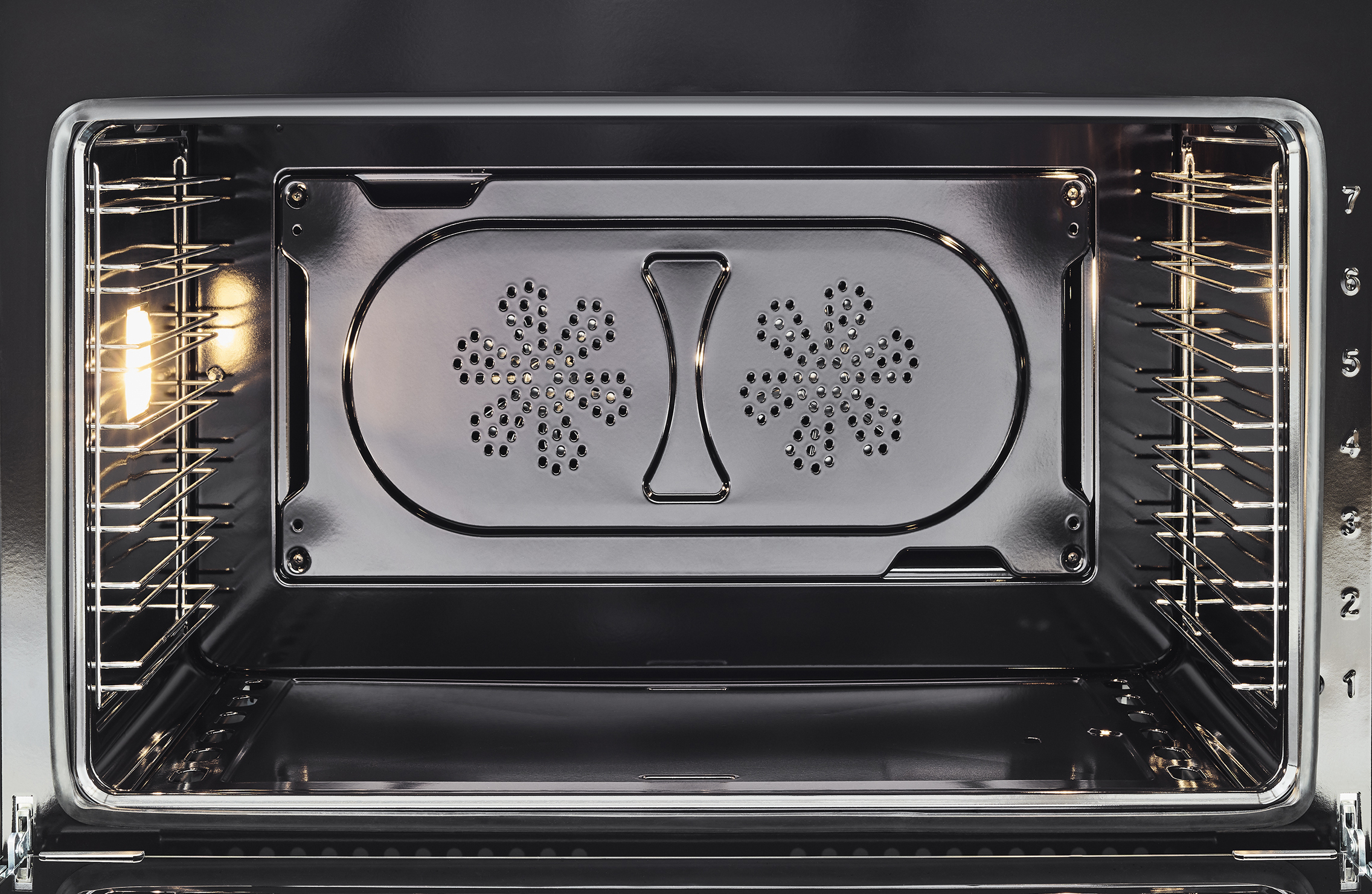 """Model: PROF304GASXT   Bertazzoni 30"""" Professional Series range - Gas oven - 4 brass burners"""