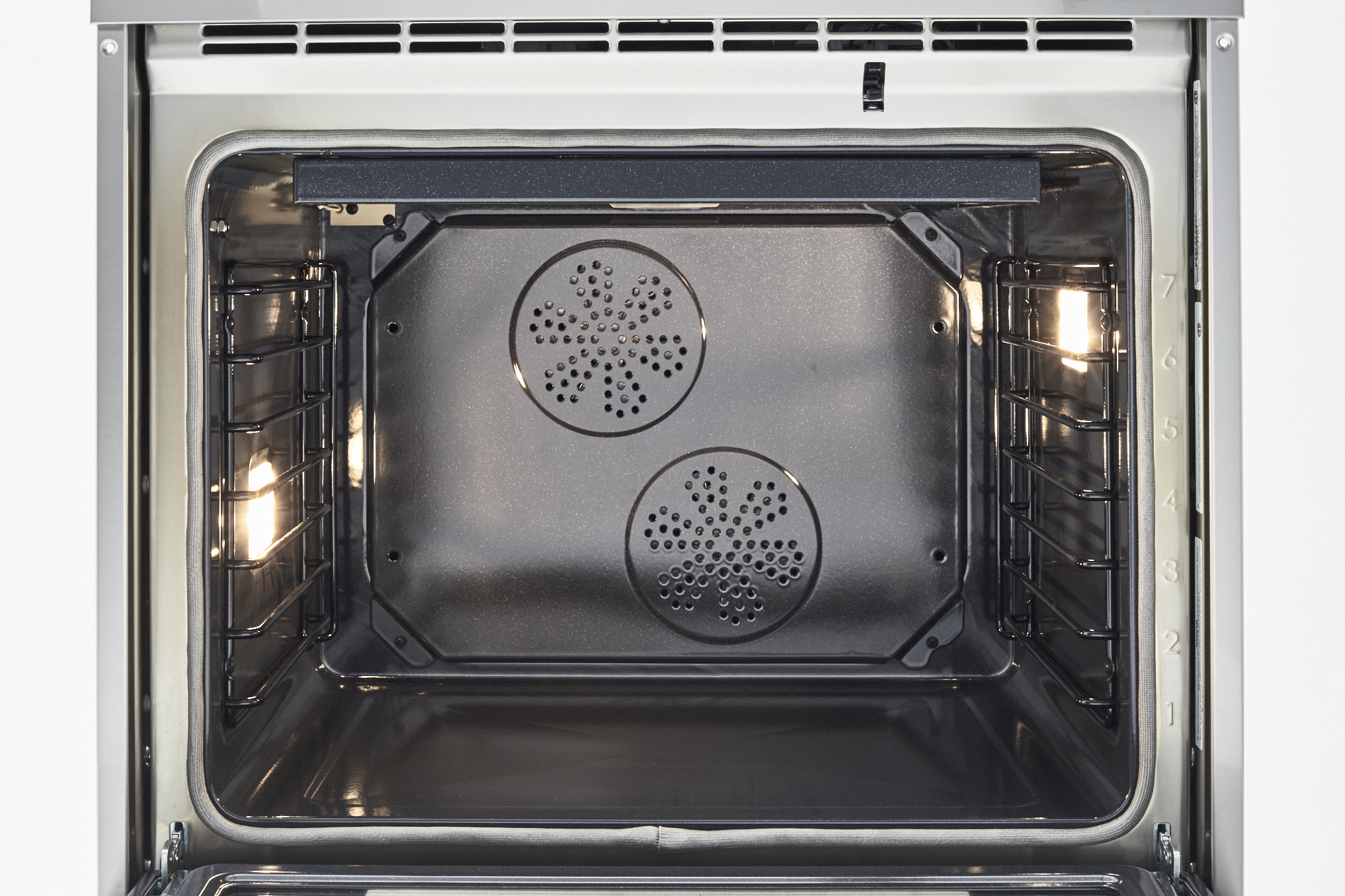 "Model: PROF304INSGIT | Bertazzoni 30"" Professional Series range - Electric self clean oven - 4 induction zones"